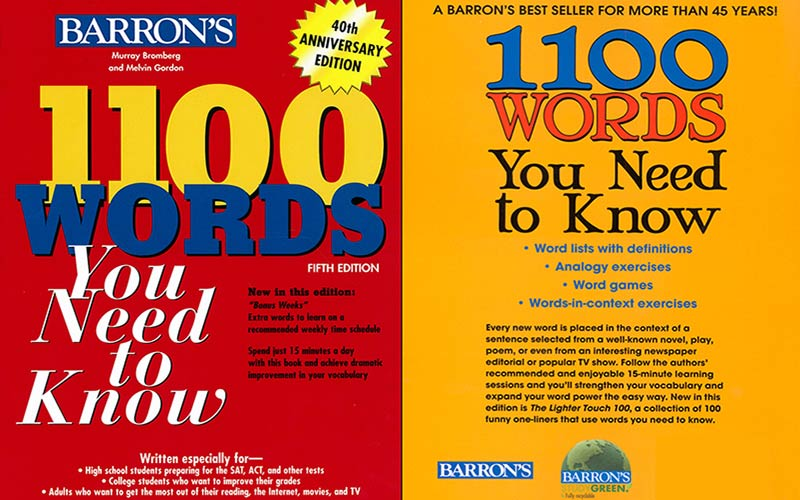 بررسی کتاب 1100 واژه ای که باید بدانید